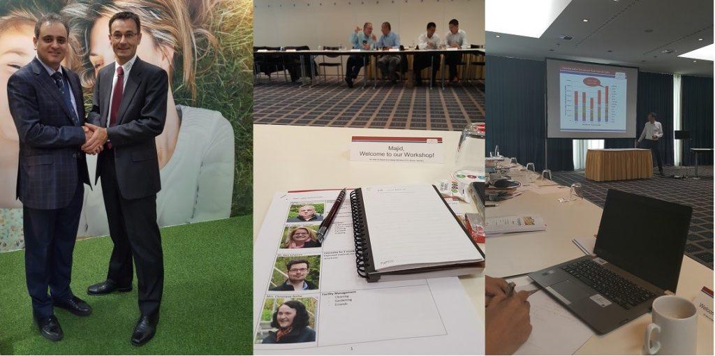 شرکت دکتر مجید نیکخواه در کارگاه آموزشی انتشار اکوستیک شرکت آلمانی Vallenو کنفرانس جهانی آزمونهای غیر مخرب (Munich, Germany, June, 2016)